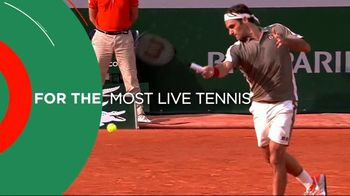 Tennis Channel Plus TV Spot, 'Most Live Tennis Anywhere' Feat. Roger Federer, Serena Williams - 9 commercial airings