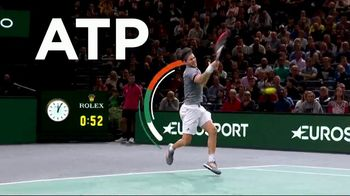 Tennis Channel Plus TV Spot, 'Most Live Tennis Anywhere' Feat. Roger Federer, Serena Williams - Thumbnail 6
