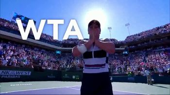 Tennis Channel Plus TV Spot, 'Most Live Tennis Anywhere' Feat. Roger Federer, Serena Williams - Thumbnail 7
