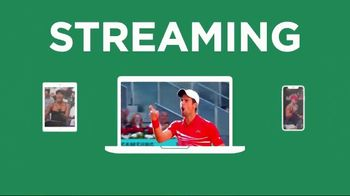 Tennis Channel Plus TV Spot, 'Most Live Tennis Anywhere' Feat. Roger Federer, Serena Williams - Thumbnail 8