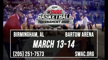 Southwestern Athletic Conference TV Spot, '2020 SWAC Men's & Women's Basketball Tournament'