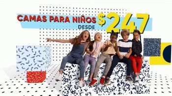 Rooms to Go Venta por el Día de los Presidentes TV Spot, 'Camas para niños' [Spanish] - Thumbnail 3