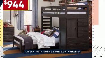 Rooms to Go Venta por el Día de los Presidentes TV Spot, 'Camas para niños' [Spanish] - Thumbnail 6