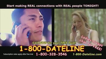 1-800-DATELINE TV Spot, 'Always Someone to Talk To' - Thumbnail 4