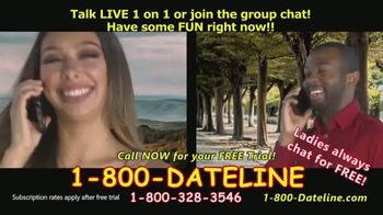 1-800-DATELINE TV Spot, 'Always Someone to Talk To' - Thumbnail 5