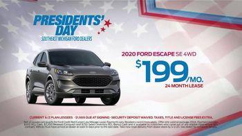 2020 Ford Escape TV Spot, 'Presidents Day: Escape' [T2] - Thumbnail 4