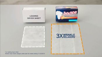 Bounce Wrinkle Guard TV Spot, 'World's First Mega Sheet' - Thumbnail 8