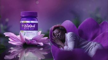Vicks ZzzQuil PURE Zzzs Melatonin Gummies TV Spot, 'Unique Botanical Blend'