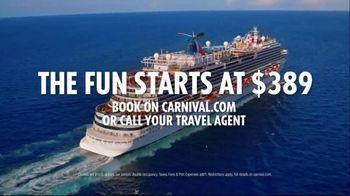 Carnival TV Spot, 'Full Flamingo: $389' Song by The Keys - Thumbnail 7