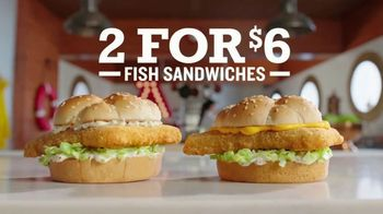 Arby's 2 for $6 Fish Sandwiches TV Spot, 'Pictures' Song by YOGI - Thumbnail 9
