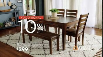Ashley HomeStore Presidents Day Sale TV Spot, 'Extended: Additional 10% Off' Song by Midnight Riot - Thumbnail 5