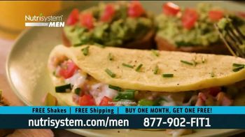 Nutrisystem BOGO Sale TV Spot, 'Nutrisystem for Men: Living on Fast Food'