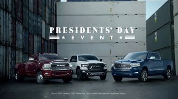 Ram Trucks Presidents Day Event TV Spot, 'New Perspective' [T2]