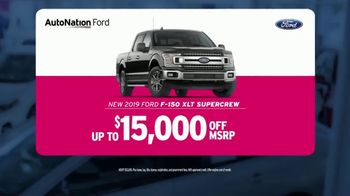 AutoNation Weekend of Wow TV Spot, '2019 F-150' - Thumbnail 4
