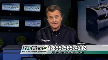 LeafGuard of Pittsburgh Winter Half Off Sale TV Spot, 'Open Face Gutter Damage: Gift Cards'