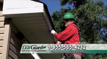 LeafGuard of Pittsburgh Winter Half Off Sale TV Spot, 'Open Face Gutter Damage: Gift Cards' - Thumbnail 3