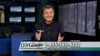 LeafGuard of Pittsburgh Winter Half Off Sale TV Spot, 'Open Face Gutter Damage: Gift Cards' - Thumbnail 4