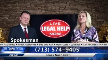 Fears Nachawati TV Spot, 'Live Legal Help Now'