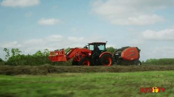 Kubota M8 Series TV Spot, 'RFD TV: The Hay Business'