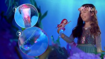 Disney Princess Glitter 'n Glow Ariel TV Spot, 'Light Shows' - Thumbnail 6