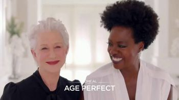 L'Oreal Age Perfect Luminous Hydrating Lipstick TV Spot, 'Just for Us' Ft. Viola Davis, Helen Mirren