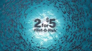 McDonald's 2 for $5 Filet-O-Fish TV Spot, 'Ebb and Flow'