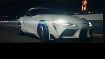 2021 Toyota GR Supra TV Spot, 'Kyle Busch Signs the Line at Nascar's Daytona 500' [T1] - 1 commercial airings