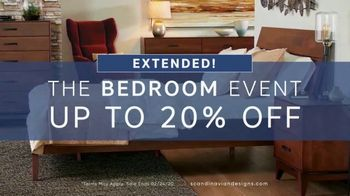 Scandinavian Designs Bedroom Event TV Spot, 'Extended' - Thumbnail 1