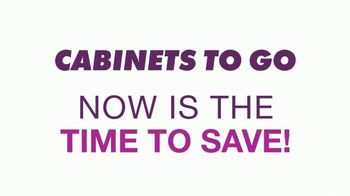 Cabinets To Go Buy One, Get One Free Sale TV Spot, 'Free Wall Cabinets & Special Financing' - Thumbnail 1