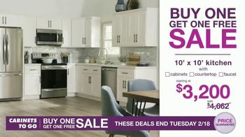 Cabinets To Go Buy One, Get One Free Sale TV Spot, 'Free Wall Cabinets & Special Financing' - Thumbnail 5