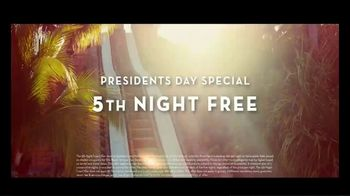 Atlantis Presidents Day Special TV Spot, 'Welcome: Fifth Night Free' Song by Grace Mesa - Thumbnail 8