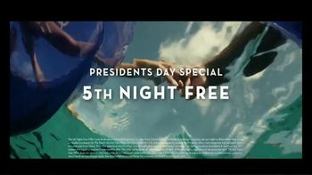 Atlantis Presidents Day Special TV Spot, 'Welcome: Fifth Night Free' Song by Grace Mesa - Thumbnail 9