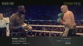 XFINITY On Demand TV Spot, 'Wilder vs. Fury II' - Thumbnail 2