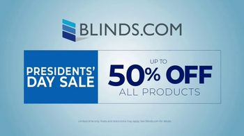 Blinds.com Presidents Day Sale TV Spot, 'Shocked: 50 Percent Off' - Thumbnail 8