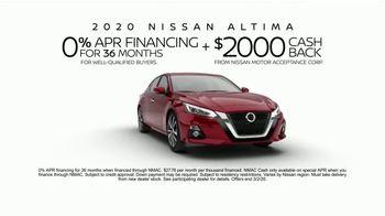 2020 Nissan Altima TV Spot, 'Better Grip' [T2] - Thumbnail 10