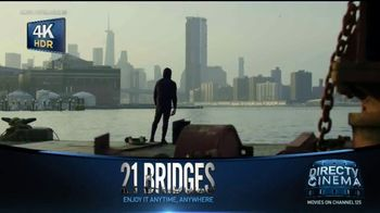 DIRECTV Cinema TV Spot, '21 Bridges' - Thumbnail 3