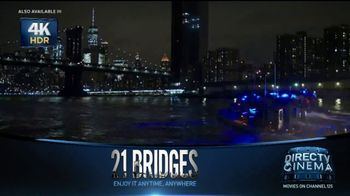 DIRECTV Cinema TV Spot, '21 Bridges' - Thumbnail 4