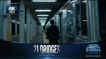 DIRECTV Cinema TV Spot, '21 Bridges' - Thumbnail 7