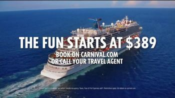 Carnival TV Spot, 'Try Anything Twice: $389' - Thumbnail 9