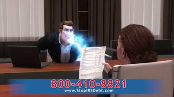 StopIRSDebt.com TV Spot, 'Super Sid' - Thumbnail 4