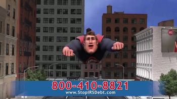 StopIRSDebt.com TV Spot, 'Super Sid' - Thumbnail 5