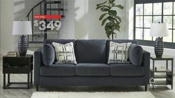 Ashley HomeStore Presidents Day Sale TV Spot, 'Final Days: Upholstered Sofa' Song by Midnight Riot - Thumbnail 5