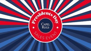 Capel Rugs Presidents Day Sale TV Spot, '60% Off' - Thumbnail 1
