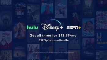 ESPN+ TV Spot, 'Hulu and Disney+ Bundle'