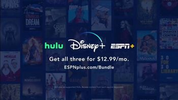 ESPN+ TV Spot, 'Hulu and Disney+ Bundle'