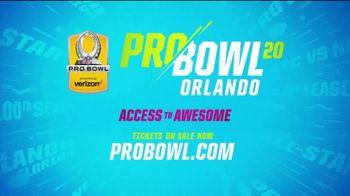 2020 Pro Bowl TV Spot, 'Orlando: Experiences' - Thumbnail 10