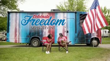 Camping World Celebrate Freedom Savings Event TV Spot, 'Flag'