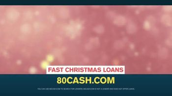 80cash TV Spot, 'Just In Time For Christmas'