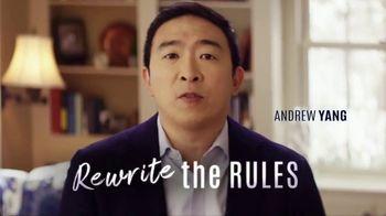 Friends of Andrew Yang TV Spot, 'Rewrite'