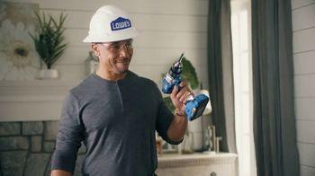 Lowe's TV Spot, 'Rod Pod: Drill or Driver' Featuring Kurt Warner - Thumbnail 8